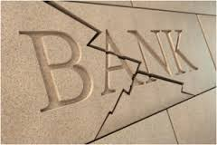 Cracked bank