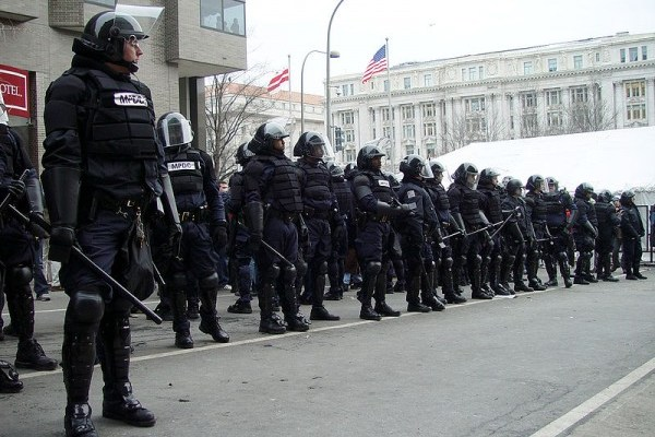 Top Ten Signs We're Living in a Police State