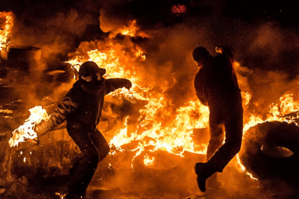 Planned Civil Unrest Of America Perfectly On Schedule