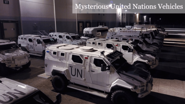 An Entire Unit Of Heavily Armed UN Vehicles Already On US Soil – In Maryland Kellogg Warehouse DI2CboOW0AEdmec-1024x576-e1513562560258