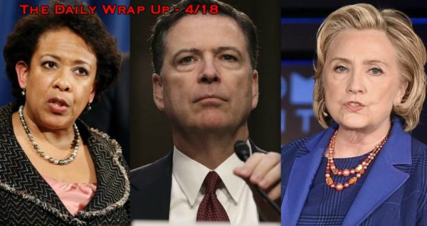 Congress Calls For Clinton, Comey, Lynch Investigation, AI Drones Decide Who Dies & Taxes Fund Wars
