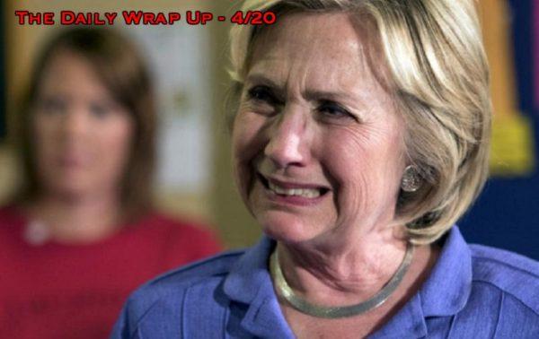 Dems Sue For Hillary Loss, Comey Leaks Investigated, North Korea Suspends Nukes & The Marijuana Rebellion