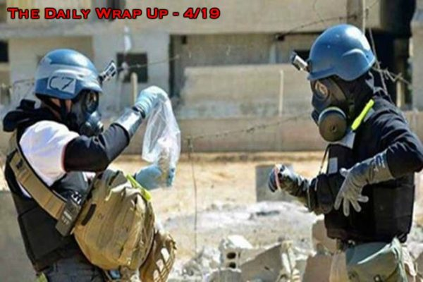 NATO Drills Before Syria Attack, UN Hinders OPCW, Russia Finds Chlorine & Wells Fargo's $1bn Fine