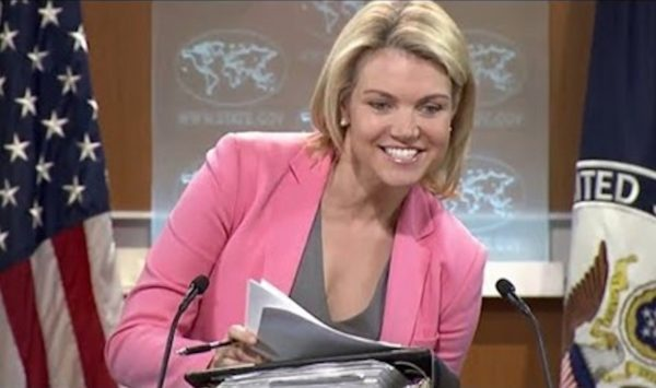 US State Department 'Concerned' Over Syrian Government Operations In...Syria!