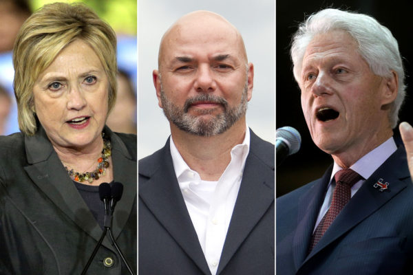 Former Secret Service Agent Files RICO Suit Against Clintons, Soros, Podesta, Brock
