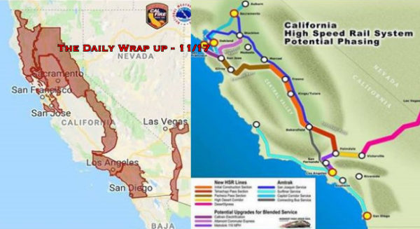 Does California Fire Match Future Railway Plan, CIA Says MBS Guilty & Assange Indictment Exposed