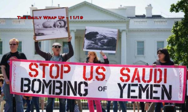 Congress Blocks Yemen Vote, Trump Counters CIA On Khashoggi, Idlib Reignites & Daniel Best