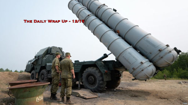 Russia Vows Retaliation To New Syria Attacks, Obamacare Ruled 'Unconstitutional' & Yellow Vests Rise