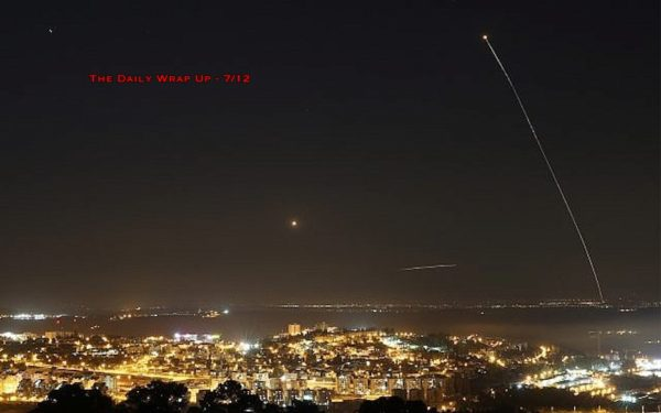Israel Bombs Gaza Refugee Camp & Gaza Fires Rockets At Israel