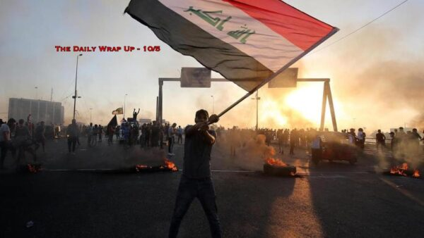 Over 100 Dead As Iraqis Call For Gov't Resignation, Rockets and Bombs In Palestine & Israel's US War