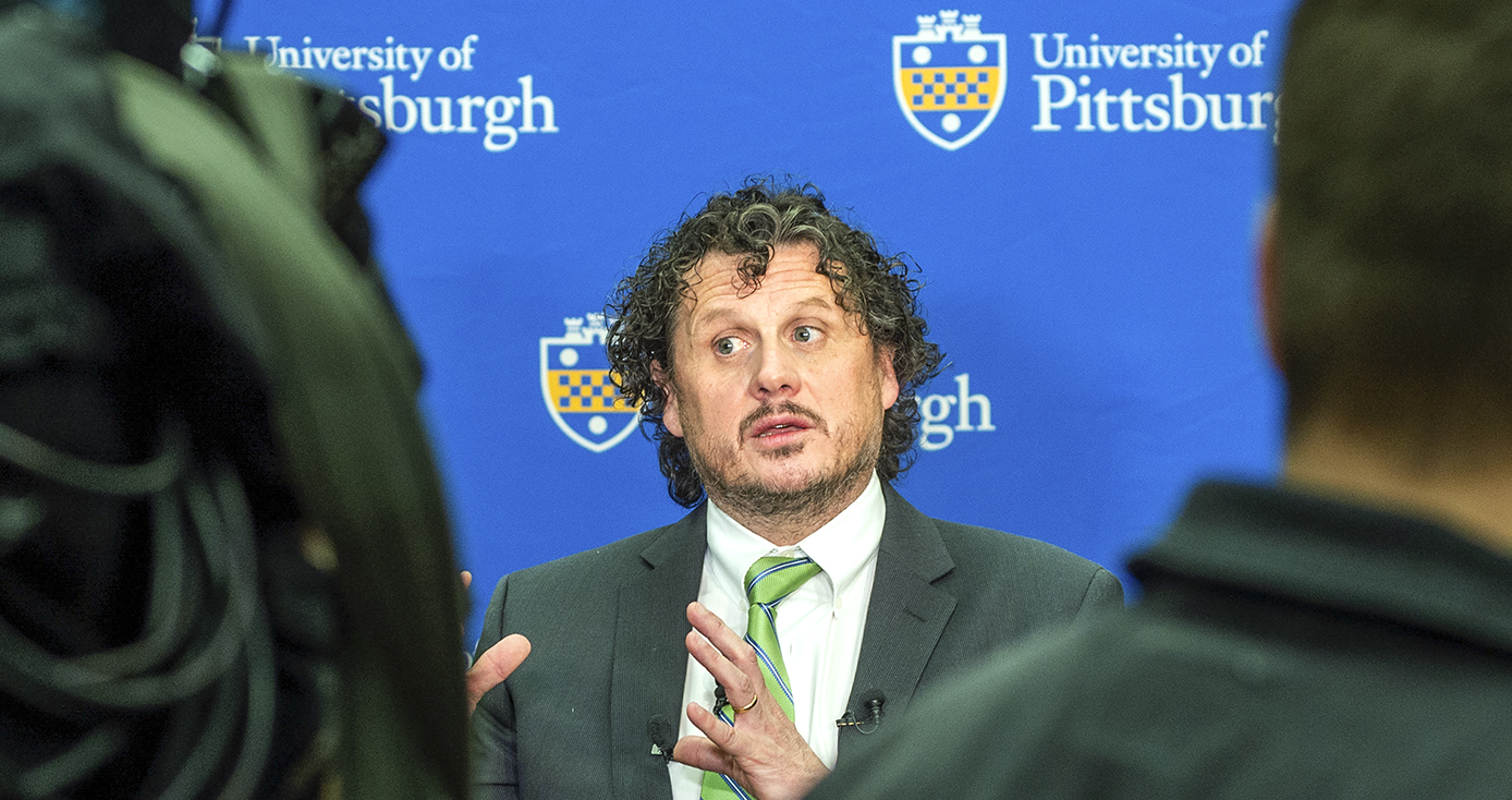 Director of UPMC's Center for Vaccine Research, W. Paul Duprex