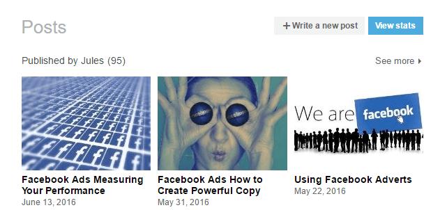 LinkedIn Long Form Posts 1