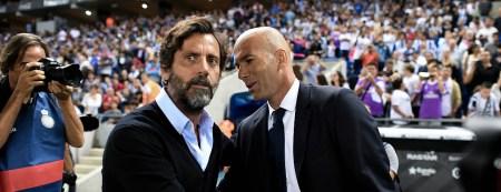 Quique Sánchez vs Zinedine Zidane
