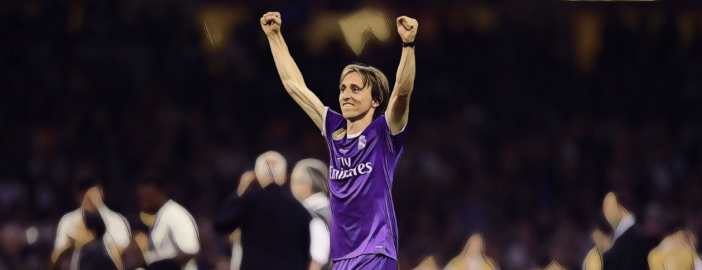 Luka Modric Champions League 2017