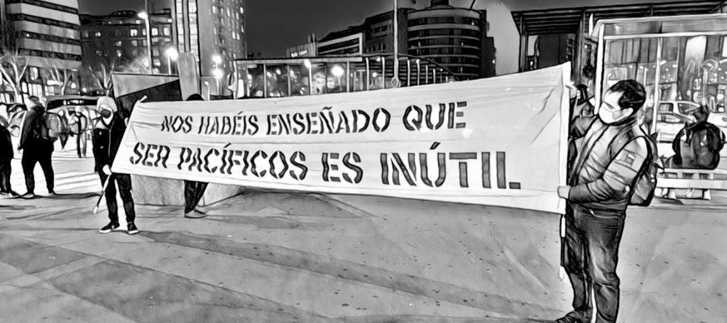 Protestas en Barcelona, febrero de 2021