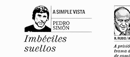 Pedro Simón, en El Mundo