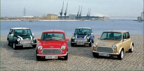 2000 Rover Mini Classic Range