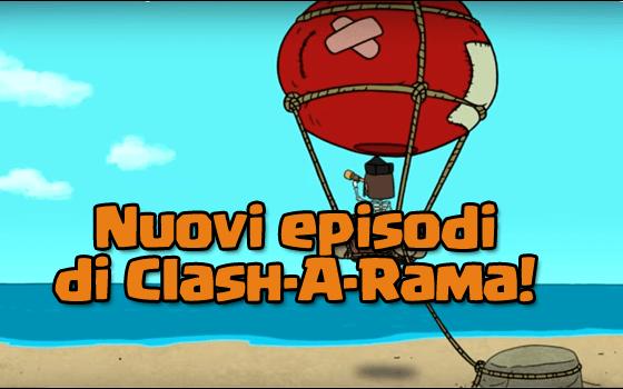 foto articolo 28 - Nuovi episodi di Clash-A-Rama: ipotesi veliero?