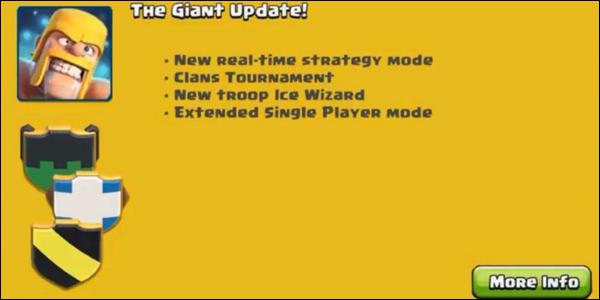 Arrivano nuovi leaks: tornei tra clan,nuovi eventi e mappa goblin estesa!
