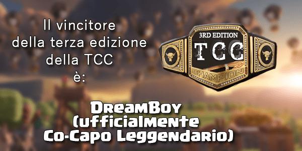 TCC3, il dado è tratto: il vincitore è..