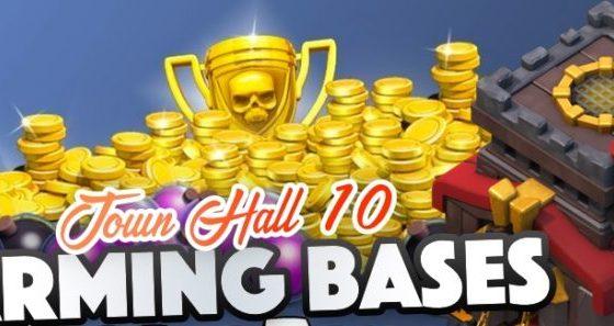 Migliori Basi del TH10 FARMING - Migliori Basi del TH10 [FARMING]