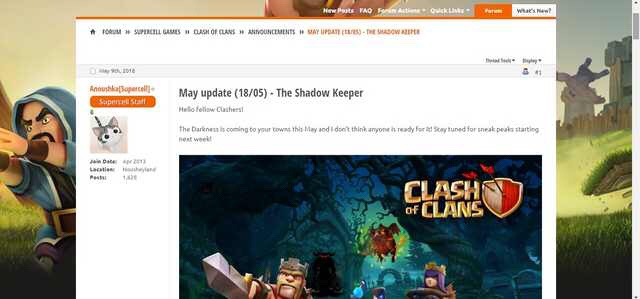 Leaks o Sneak Peek: arriva l'ombra mietitrice su Clash of Clans!