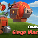 Sneak Peek 4: arriva l'Officina d'Assedio su Clash of Clans