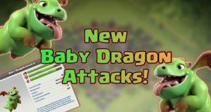 baby dragon attack strategy th9 750x400 - Th10 war: disposizioni e eserciti con BABY DRAGON!