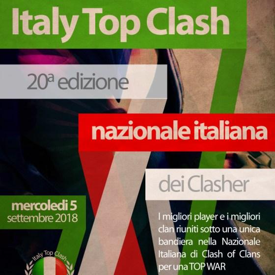 Locandina Top War ITC - Italy Top Clash, un successo da 20 edizioni