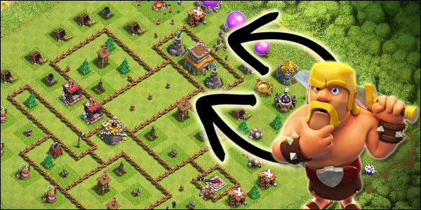 Curiosità su Clash of Clans: strano Th8 in Lega Titano!