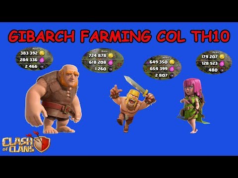 Clash of Clans ITA -E77- Gibarch Farming col TH10