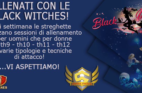 anteprima - Training con le Black Witches QW BoMiners TH11