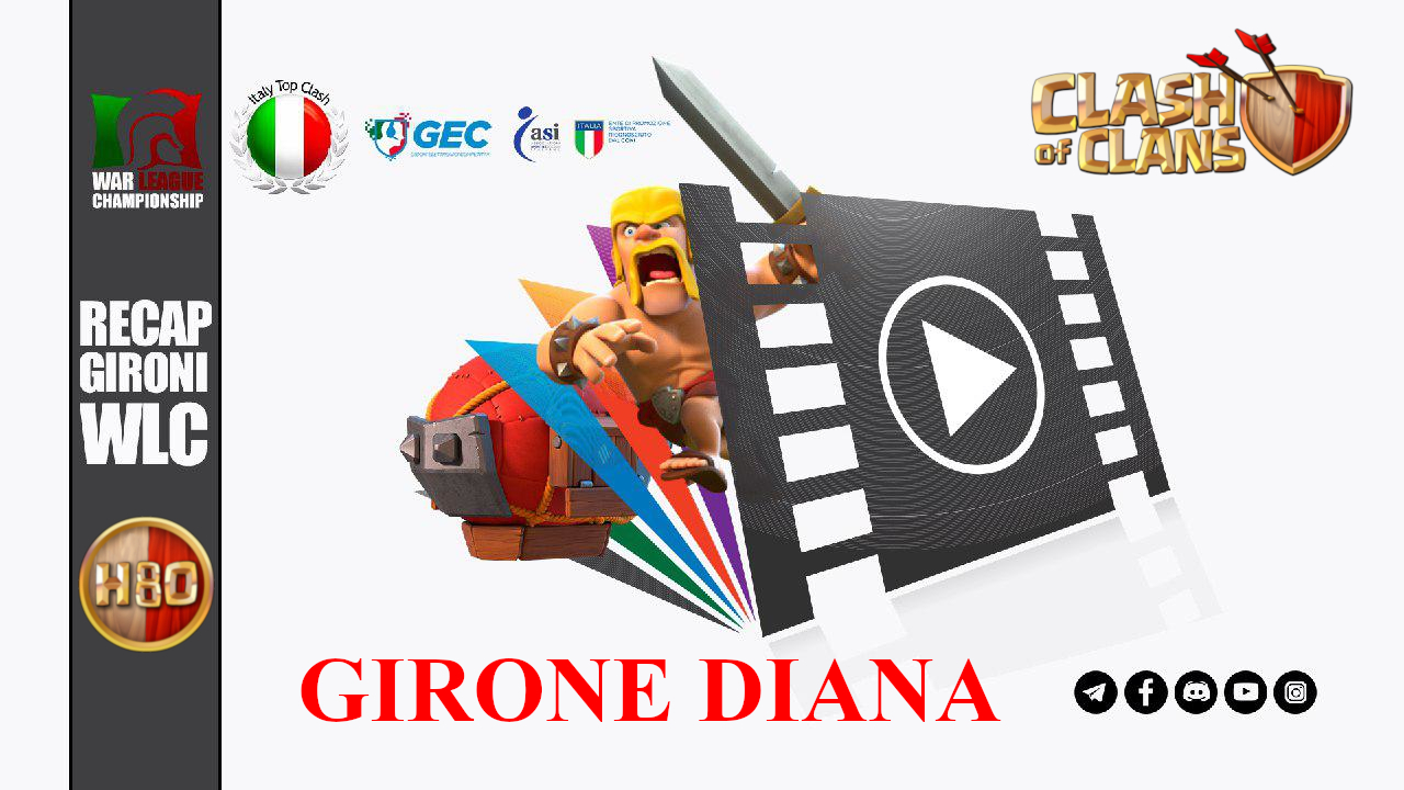 Clash Of Clans – ITC – War League Championship – Girone Diana Classica Parziale