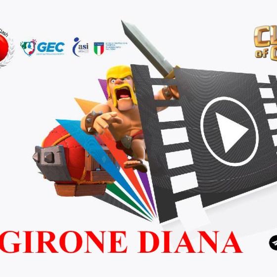 miniatura DIANA - Clash Of Clans -ITC- WLC - Girone Diana Classifica Finale