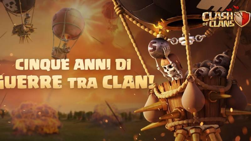 5 anni di Clan War: Auguri, a noi guerrieri