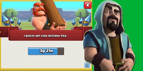 Giochi del Clan 13-19 Aprile: premi,informazioni e dettagli!