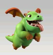 baby dragon - Quale combinazione di truppe scegliere per riempire i Castelli in War?