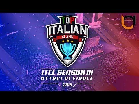 0 2 - 3° Torneo IT.C.L. [2019] | OTTAVI di FINALE | Clash of Clans [ITA]