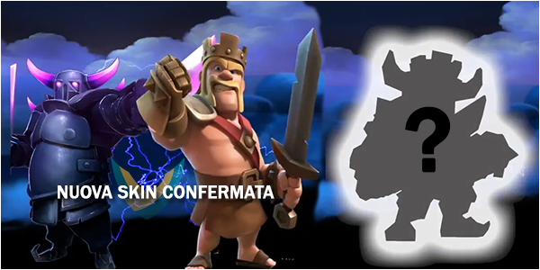 Ecco la nuova Skin del Re P.E.K.K.A. su Clash of Clans