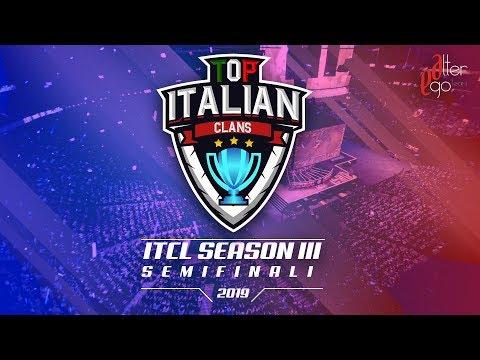 0 3 - 3° Torneo IT.C.L. [2019] | SEMI FINALI | Clash of Clans [ITA]