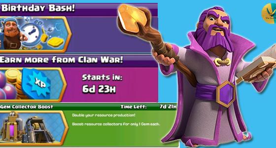 evidenza articolo - [LEAKS]Eventi in arrivo per il 7° compleanno di Clash of Clans