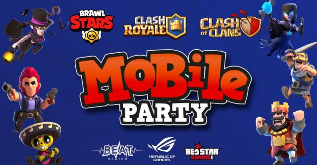 "mobile party 1024x536 - BEAT Gaming organizza il primo ""Mobile Party"" dei titoli Supercell"