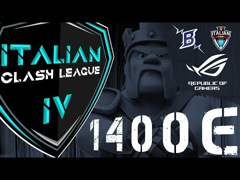 ITCL4: sfida i migliori Clan e prova a vincere 1.400€
