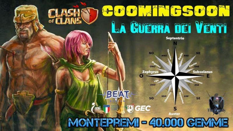 """TheFamily presenta l'evento """"La Guerra dei Venti"""" su Clash of Clans"""