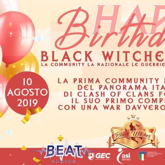 photo 2019 07 29 11 59 04 - 1 anno di Black Witches su Clash of Clans: le testimonianze