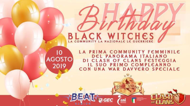 1 anno di Black Witches su Clash of Clans: le testimonianze