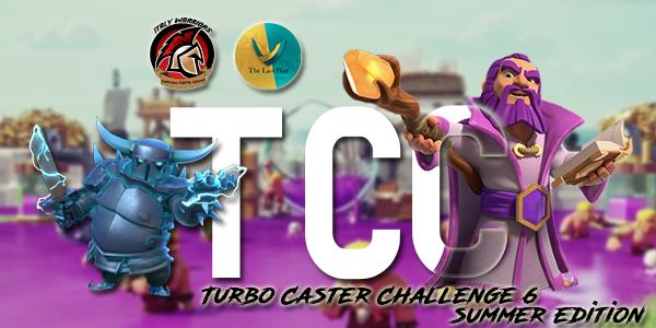 progetto TCC - Riparte la Turbo Caster Challenge 6 del clan Italy Warriors su Clash of Clans