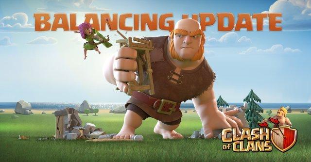 balancing update - Aggiornamento su Clash of Clans: Bilanciamento truppe e difese