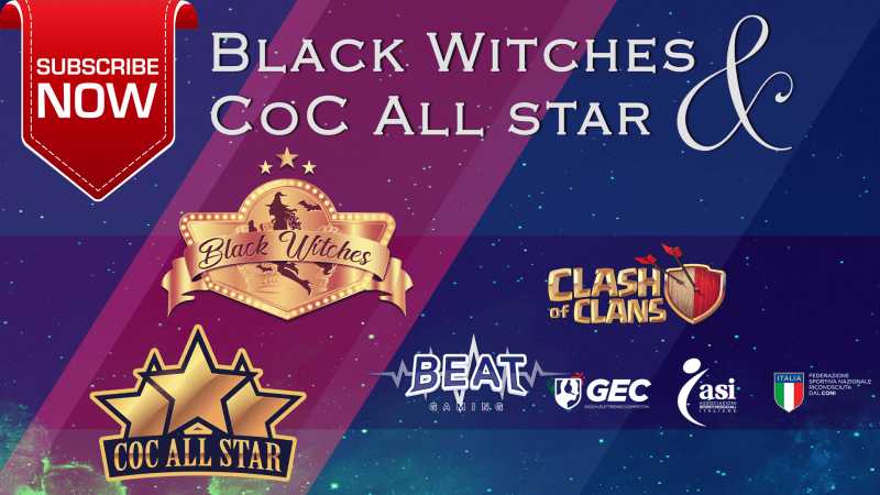Black Witches e All star, quando streghe e stelle si incontrano nel cielo di Clash of Clans