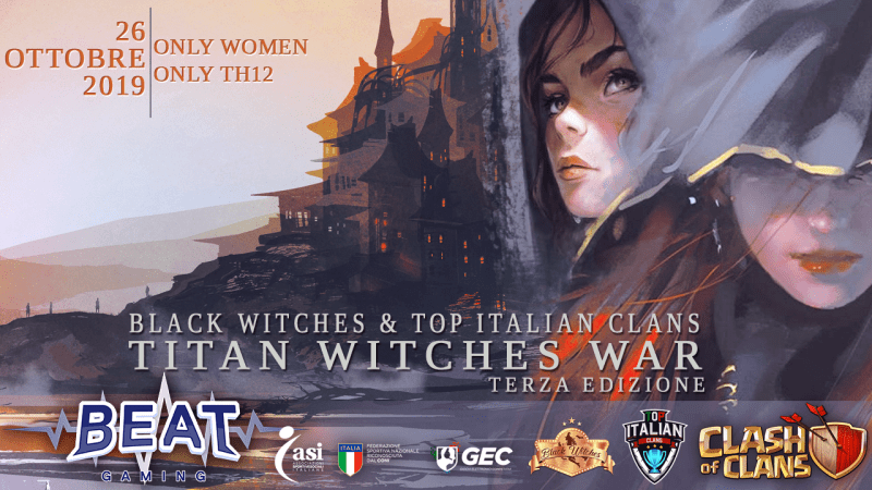 Titan Witches – War full TH12 solo donne!